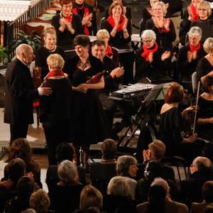 Sinfonia Heist kerstconcert  Diamond Chamber Orchestra André Walschaerts Elewijts Bachkoor Joke Cromheecke