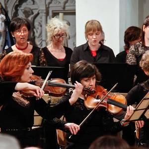Sinfonia Heist Passieconcert Diamond Chamber Orchestra Vocaal ensemble