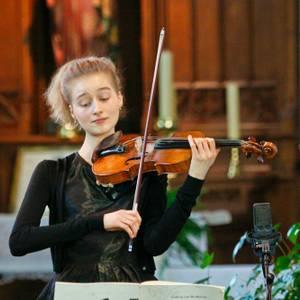 Sinfonia Heist Muziek Intiem Recital Svenja Van Driessche viool
