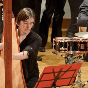 Sinfonia Heist Kerstconcert Eva Verheyen Harp