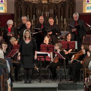 Sinfonia Heist Passieconcert Vocaal ensemble Lydia Van den Berckt