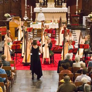 Sinfonia Heist Harpenconcert Eva Verheyen Harp Ensemble